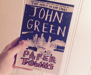 book, john green, and reading image