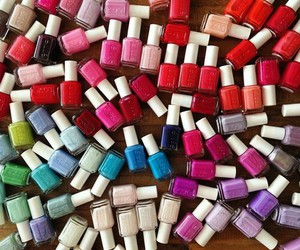 nails, essie, and colors image