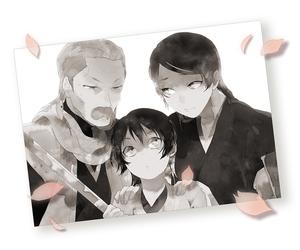 bleach, father, and kuchiki byakuya image