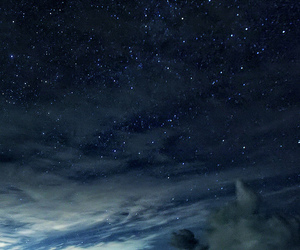 heaven, night, and sky image