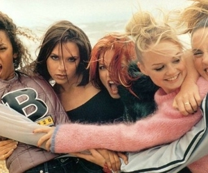 spice girls, 90s, and friends image