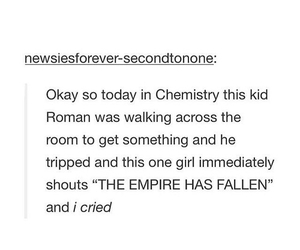 chemistry, empire, and fall image