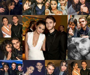 couple, selena gomez, and zedd image