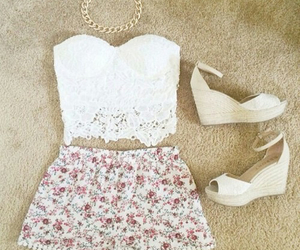 outfit, beautiful, and dress image