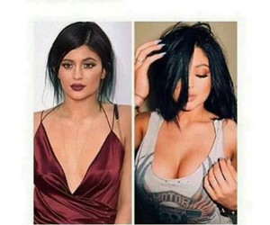 kylie jenner, bra, and love image