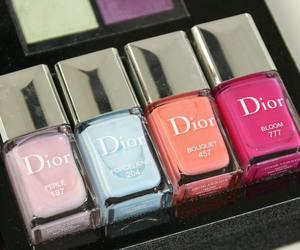 dior, fashion, and nail polish image