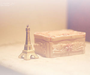 cute, eiffel tower, and paris image