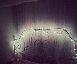 bed, decoration, and fairy image