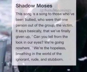 bmth, bring me the horizon, and shadow moses image