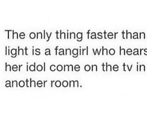 idol, fangirl, and funny image