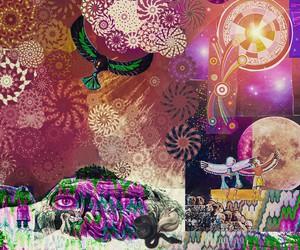 bird, larrycarlson, and Collage image