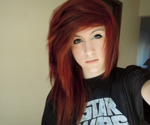 alternative, hair red, and -onyourknees image