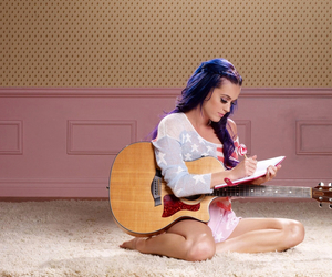 katy perry, guitar, and katy image