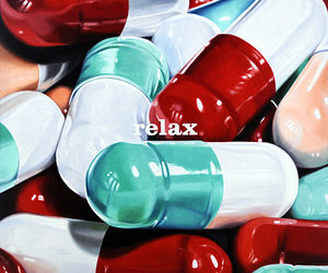 relax and pills image