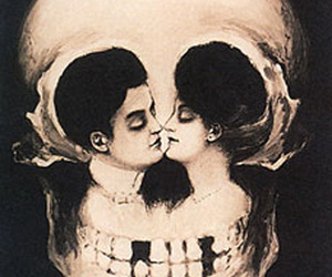 romance and skull image
