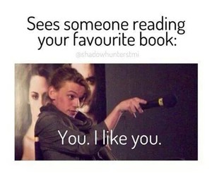 book, funny, and like image
