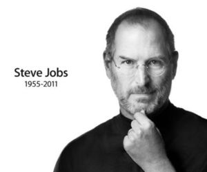 Steve Jobs, apple, and rip image