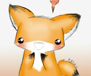 fox and kawaii image
