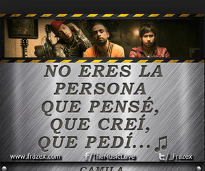 camila, frases, and mientes image