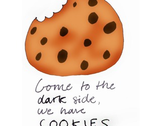 come, cookie, and dark image