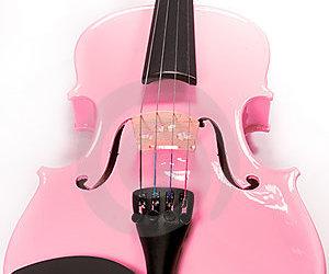 pink and violin image