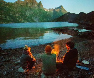 camping and norway image