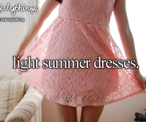 dress, summer, and cute image