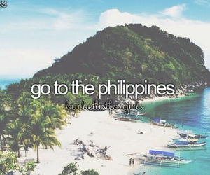 travel, Philippines, and beach image