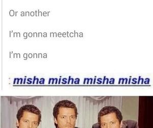 supernatural, tv, and misha collins image