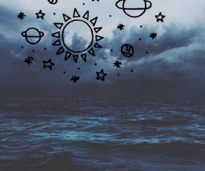 background, galaxy, and grunge image