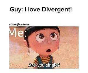 funny, lol, and divergent image