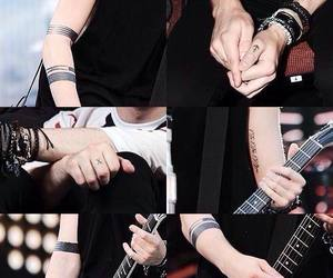 5sos, michael clifford, and tattoo image