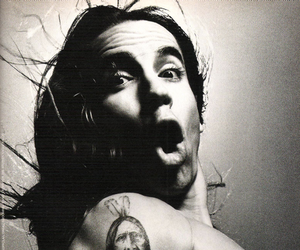 anthony kiedis, red hot chili peppers, and tattoo image