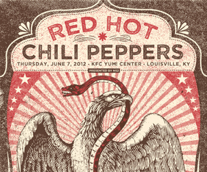 the red hot chili peppers image