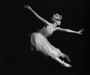 ballet, black & white, and photography image