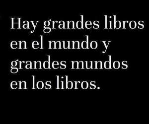 book, world, and frases image