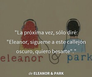 books, love, and eleanor & park image
