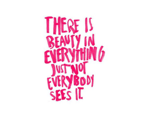 beauty, quotes, and pink image