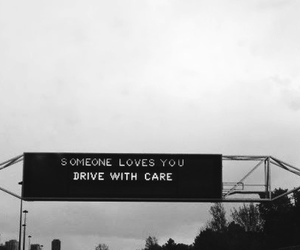 love, drive, and quote image