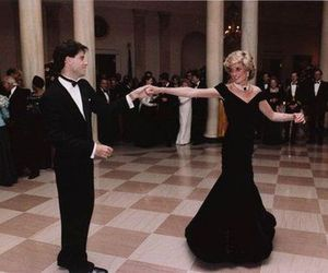 John Travolta, princess diana, and princess image