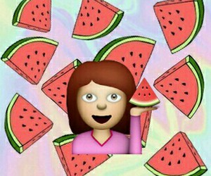 watermelon, overlay, and wallpaper image