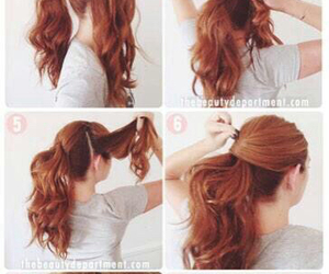 beautiful, hairstyle, and ponny image