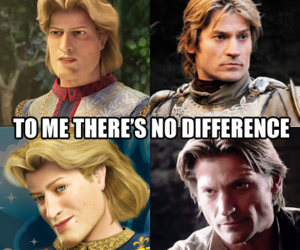 shrek, game of thrones, and funny image