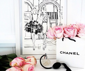 chanel, fashion, and pastel image