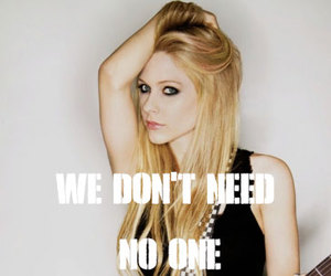 Avril Lavigne and song image