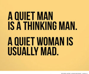 woman, quote, and man image
