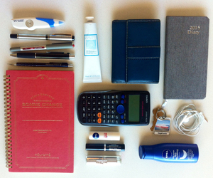 stationery, study, and what's in my bag image