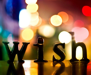 wish, light, and colorful image