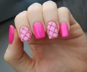 manicure, nails, and pattern image