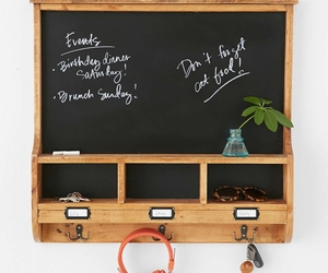 chalkboard, decor, and home image